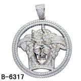 Dos homens de prata da jóia de Hip Hop da jóia 925 da forma ouro dos encantos chapeado