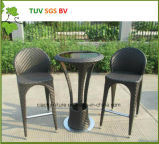 La H-Cina Outdoor Wicker Modern Bar Stool per Table Chair