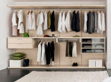 أسلوب بسيطة خشبيّة غرفة نوم خزانة ملابس خزانة ثوب
