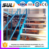 Entresuelo de acero de la estructura de la plataforma con diseño del suelo de Mutilevel