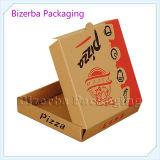 熱い販売法クラフトはピザ/Foodのための包装ボックスを波形を付ける