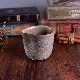 Choc en céramique de bougie de seule forme