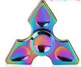 Grande filatore di riserva del giocattolo di irrequietezza della barretta della lega di alluminio di Handspinner del metallo del triangolo