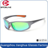 Eigenmarken-Mann-Spiegelsun-Glas-Fabrik Großverkauf polarisiertes Eyewear Fahrrad, das Sport-im Freien auswechselbares Objektiv-kundenspezifische Firmenzeichen-Sonnenbrillen fährt