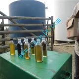 Raffineria continua di distillazione dell'olio residuo alla pianta del combustibile diesel