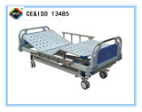 (A-38) Cama de hospital manual Double-Function con la pista de la base del ABS