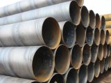 Tubo d'acciaio saldato Sommergere-Arco a spirale Q235 per transito della conduttura