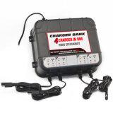 Chargeurs de batterie secs de 12 volts -4 chargeurs de batterie de côté