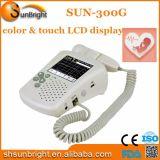 Hochwertiger Hauptgebrauch-Noten-Farbe LCD-Bildschirm fötaler Doppler Sun-300g