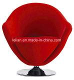 현대 가구 회전대 캐시미어 천 모직 의자 복사 망아지 피부 의자 (LL-BC063)