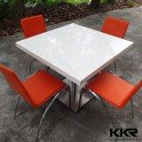 Piano d'appoggio impermeabile del ristorante coreano di pietra di marmo su ordinazione di Kkr