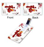 노련한 2GB 신용 카드 USB 섬광 드라이브
