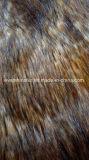Alto tessuto della pelliccia del jacquard della pelliccia artificiale della pelliccia del Faux della pelliccia di falsificazione del mucchio