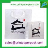Zoll gedruckter Packpapier-Beutel-Einkaufstasche-Luxuxgeschenk-Papierbeutel-Träger-Beutel-verpackenbeutel