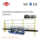 Machine de polissage en verre CE pour processus et polissage en verre de 45 degrés
