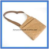 Sac de papier matériel neuf populaire de messager de Dupont, sac d'épaule de papier d'achats de Tyvek de cadeau respectueux de l'environnement de promotion avec la courroie réglable en nylon