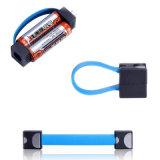 Più piccolo caricatore di potenza della batteria di emergenza 2 aa del mini del micro del USB cavo portatile del caricatore