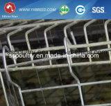 熱い電流を通された国際規格の家禽装置の鶏の層のケージ