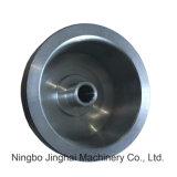 Precisão do CNC que processa o conetor/tampa/forquilha da liga de alumínio