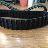 Trilha de borracha 150*59*39 de Puyi com as rodas para o robô/máquinas pequenas