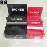 Papel sin blanquear y blanqueado de una marca de fábrica más rica del tabaquismo de balanceo