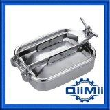 Acier inoxydable sanitaire Oening extérieur Manway rectangulaire