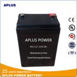 Taxa de auto-descarga inferior VRLA Bateria 12V 2.3ah para máquina de teste