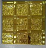 Azulejo de mosaico del oro, mosaico del espejo (HD089)