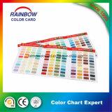 고품질 주문을 받아서 만들어진 페인트 선물 색깔 카드