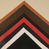 販売のLichee熱いパターン靴、袋、家具、衣服、装飾(HS-Y72)のための人工的なPUの革