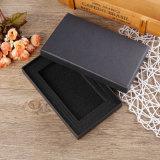 El rectángulo acanalado/el rectángulo de papel de la cartulina/la caja de cartón de papel con crean para requisitos particulares