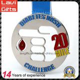 5k/10k/Halfマラソン賞のスポーツの記念品の金属メダル