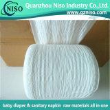 Fascia elastica blu/bianca della vita per la materia prima pannolino adulto/del bambino