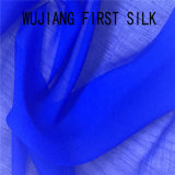 Tela Chiffon da dobra de nylon de seda da mistura, tela de Ggt da dobra da seda de 8mm, tela de seda de Georgette da dobra