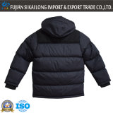 High Quality New Men's Winter gewatteerde jas met muts