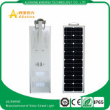 Luz de rua solar Integrated ao ar livre do jardim da iluminação 10W 20W 30W do preço de fábrica