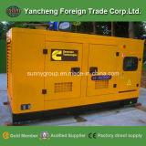 Cummins-Dieselgenerator-Set mit dem Cer genehmigt (25kVA-250kVA)
