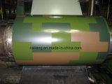 Flor de acero galvanizada pre pintada PPGI revestido de la bobina