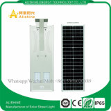 Precio de fábrica todo en luces de una calle accionadas solares integradas