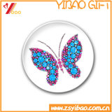 Милый цветастый значок Pin отворотом с изготовленный на заказ логосом (YB-HD-69)