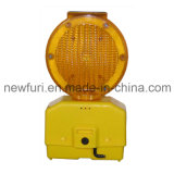 Piloto el intermitente LED de la barricada de la luz del peligro solar del semáforo