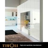 Eigentijdse Moderne Witte Garderobe Naar maat gemaakte tivo-00025hw