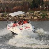 4船外エンジンを搭載するシートFRPの速度の客船