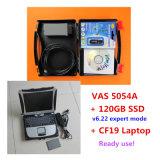 Odis V6.22のソフトウェアの巧妙なモード120GB SSDのVAS 5054Aを搭載するPanasonicのためのCF19ラップトップでインストールされる2016高品質のVAS 5054A Oki