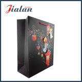 Дешевым черным штейновым мешок 3D слоения напечатанный логосом изготовленный на заказ бумажный