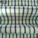 Il filato tessuto 100% del popeline di cotone ha tinto il tessuto per le camice/vestito Rls40-23po