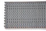ゴム製上の滑り止めの特許を取られたプラスチックモジュラーコンベヤーベルト