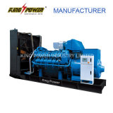 1000kw 세륨 증명서를 가진 디젤 엔진 발전기 세트를 위한 인도 Cummins Engine