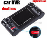 HD 1080P Double Lens Car DVR mit 170 Degree View Scale Car Camera
