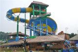 Safety élevé Diameter 18 M Water Park Slide pour Four Players